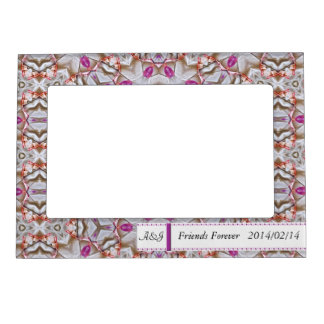 Two Toned Patterned Magnetic Frame