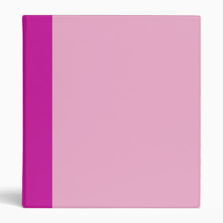 Two-Toned Pink Binder