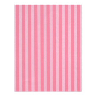 Two Toned Pink Stripes Letterhead