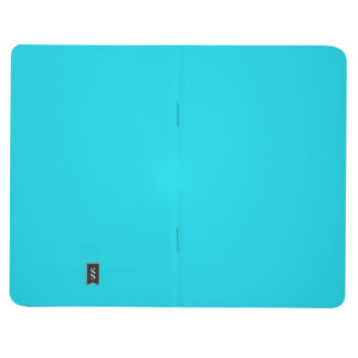 Two-Toned Sage aqua & White Pocket Journal