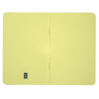 Two-Toned Yellow & White Pocket Journal