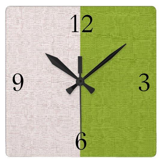 Two Tones Wall Clock