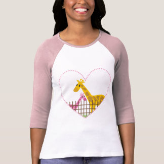 Two (Too) Cute Giraffes T-shirts