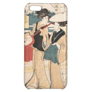 Two Tori-oi, or Itinerant Women Musicians Japan iPhone 5C Covers