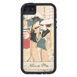 Two Tori-oi, or Itinerant Women Musicians Japan iPhone SE/5/5s Case