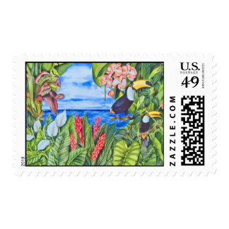 Two Toucans Postage