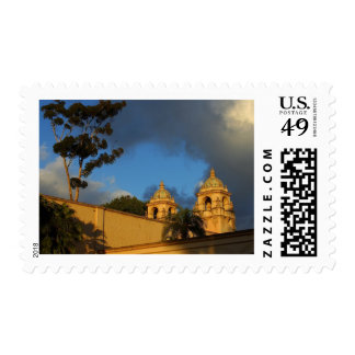 Two Towers In Balboa Park Stamp