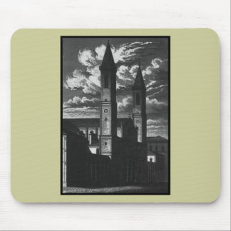 TWO TOWERS MOUSE MAT