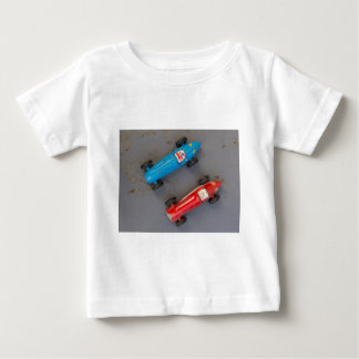 Two toy vintage cars baby T-Shirt