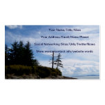 Two Tree Point Double-Sided Standard Business Cards (Pack Of 100)