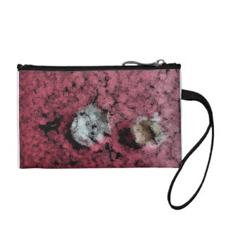 Two tree stumps in the forest coin wallet