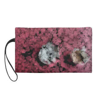 Two tree stumps in the forest wristlet