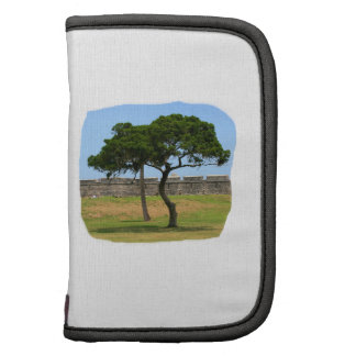 Two trees and castle walls organizer