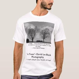 Two Trees~Thoreau T-Shirt