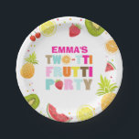 "Two-tti frutti Birthday Paper Plates Tutti fruity<br><div class=""desc"">♥ A perfect addition to your little one&#39;s birthday party! Two-tti frutti birthday party theme.</div>"
