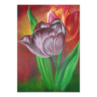 Two Tulips Card