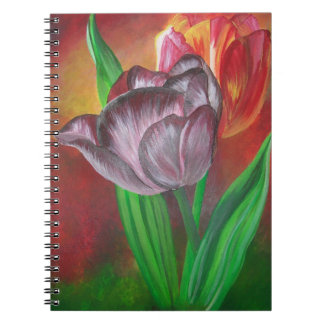 Two Tulips Notebook