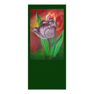 Two Tulips Rack Card