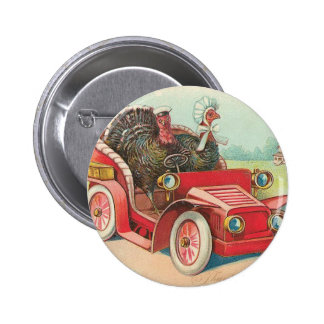 Two Turkey's Take a Drive Button