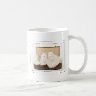 Two Turkish angoras cats Coffee Mug