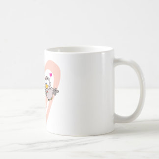 Two Turtle Doves By A Branch Mugs