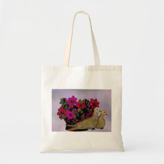 Two Turtle Doves Canvas Tote