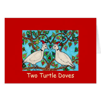 Two Turtle Doves Card