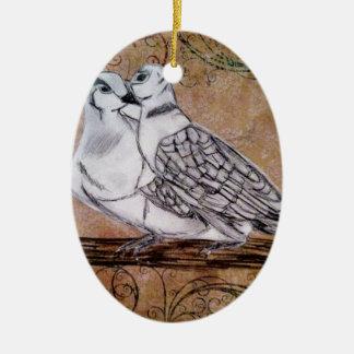 Turtle Dove Ornaments & Keepsake Ornaments | Zazzle