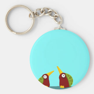 Two Turtle Doves Keychain