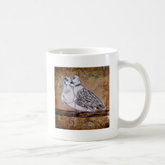 Two Turtle Doves Coffee Mugs