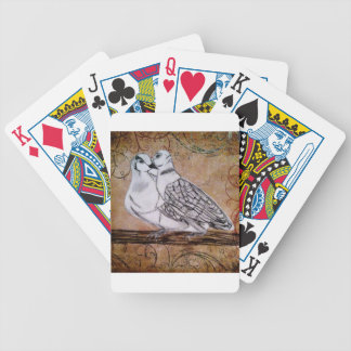 Two Turtle Doves Poker Deck