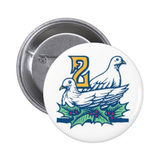 Two Turtledoves Pins