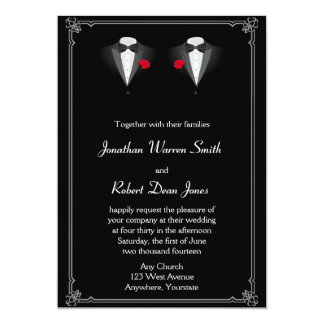 Find customizable Gay Wedding invitations & announcements of all sizes. Pick your favorite invitation design from our amazing selection.