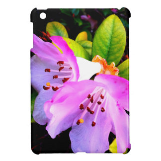 two twin pink flowers products iPad mini case