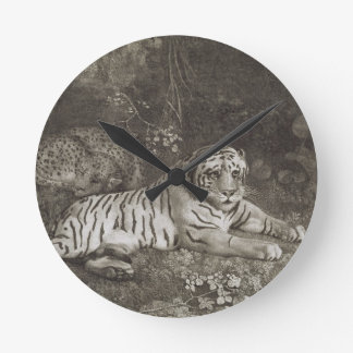Two Tygers, engraved by the artist, pub. 1788 (etc Wall Clocks