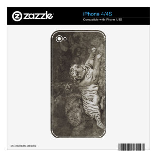 Two Tygers, engraved by the artist, pub. 1788 (etc Decals For The iPhone 4S