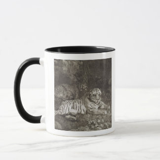 Two Tygers, engraved by the artist, pub. 1788 (etc Mug