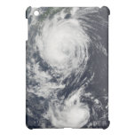 Two Typhoon systems approaching the Far East Case For The iPad Mini