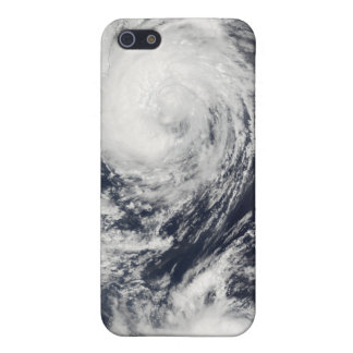 Two Typhoon systems approaching the Far East iPhone SE/5/5s Cover