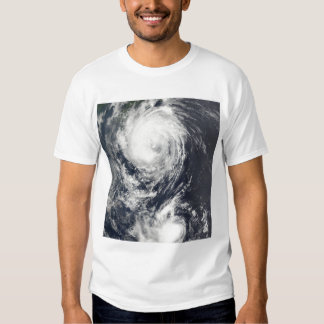 Two Typhoon systems approaching the Far East Shirt