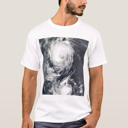 Two Typhoon systems approaching the Far East T-Shirt