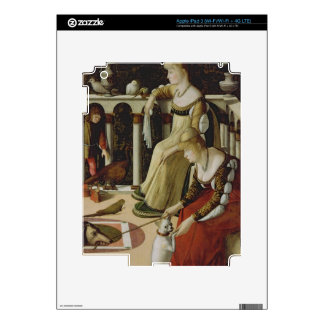 Two Venetian Ladies (panel) Decals For iPad 3