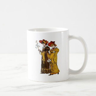 Two Victorian Ladies Coffee Mugs