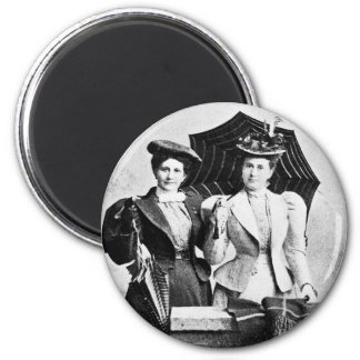 Two Victorian women, 1898 Magnet