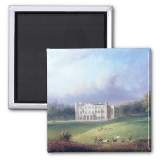 Two Views of Apley Priory 2 Inch Square Magnet