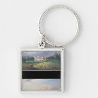 Two Views of Apley Priory Keychain