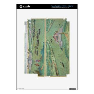 Two Views of Comorra, from 'Civitates Orbis Terrar iPad 3 Decals