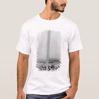 Two views of the construction of the Eiffel 2 T-Shirt