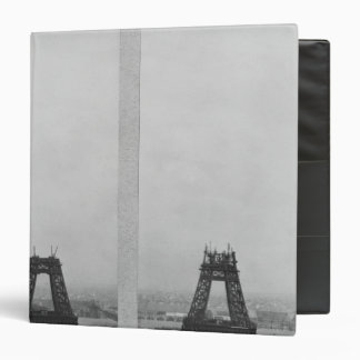 Two views of the construction of the Eiffel 3 Ring Binder