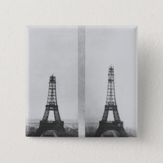 Two views of the construction of the Eiffel Button